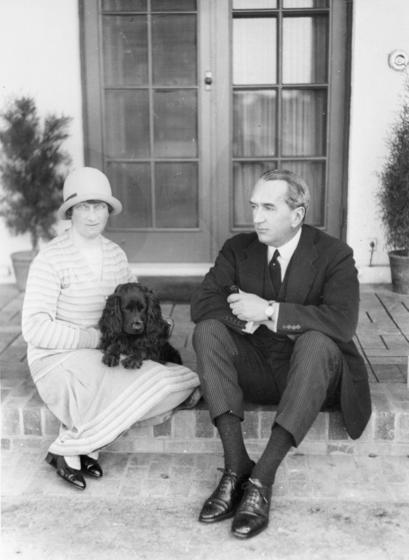 Image of Ethel and Stanley Bruce.